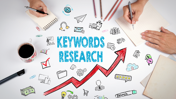 researching keywords for recruitment blogs