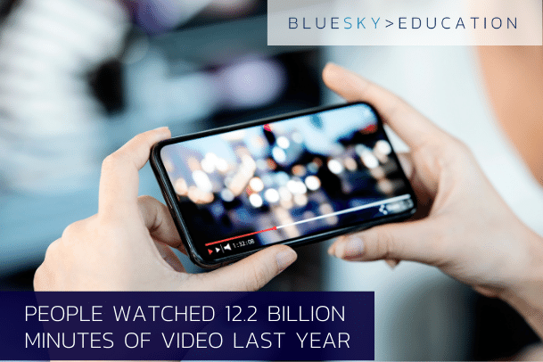 Video media uploads increased 80% year on year in 2020 - are you utilising video content?