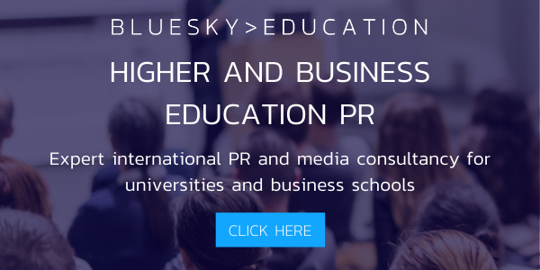 Higher education and business education PR - expert international public relations and media consultancy for universities and business schools