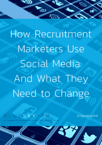 Ebook front cover - recruitment marketers