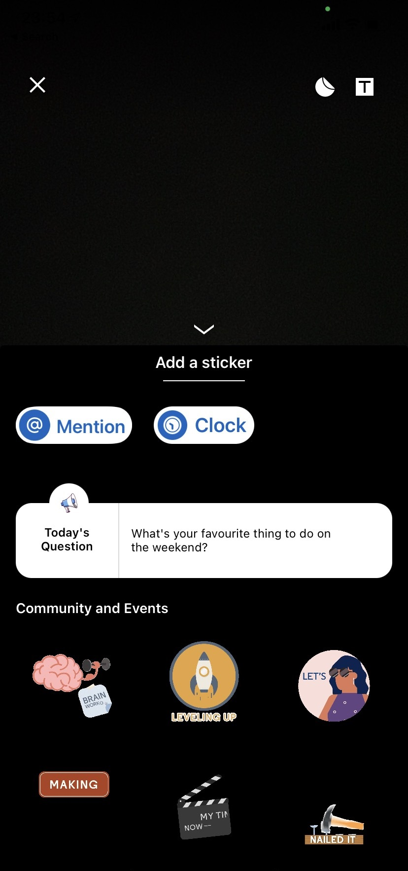 How-to-add-stickers-to-a-LinkedIn-Story