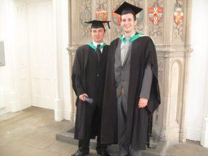 James' Graduation