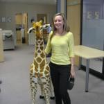 Sam and Girafffe