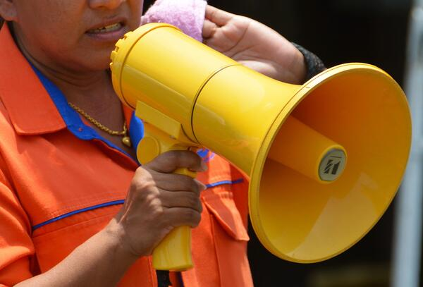 Crisis PR: be vocal