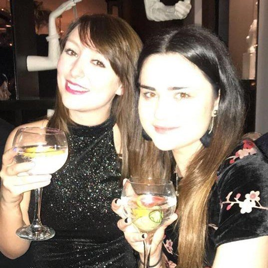 18. Nat and Kate Christmas Dec 2017