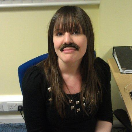 1. Kerry joining in Movember with a stick on tash Nov 2012