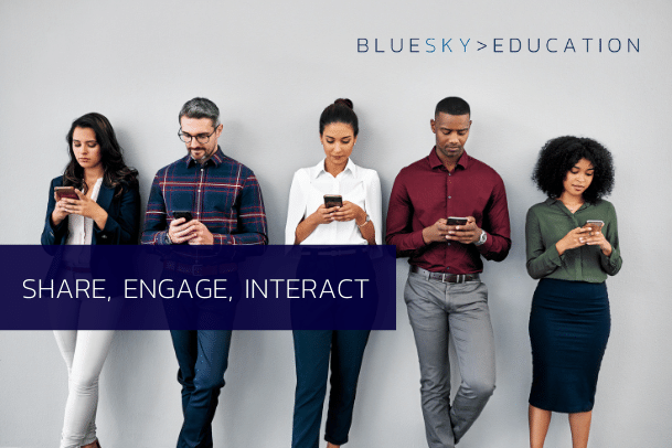 Why and how to encourage employees to share your content | BlueSky Edu